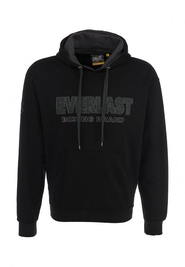 Мужской черный худи от Everlast