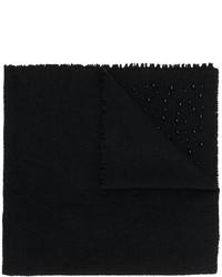Женский черный шарф от Faliero Sarti
