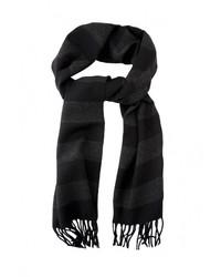Мужской черный шарф от GREG