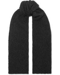 Женский черный шарф от Majestic Filatures