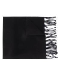 Мужской черный шарф от Moschino