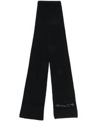Женский черный шарф от No.21