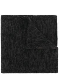 Мужской черный шарф от Pringle