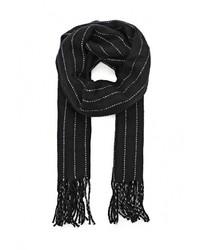 Мужской черный шарф от Topman