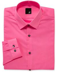 Ярко-розовая классическая рубашка