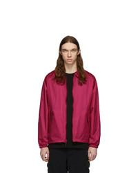 Ярко-розовая куртка харрингтон