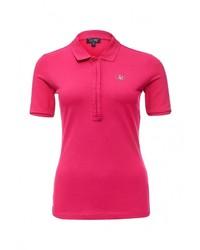 Женская ярко-розовая рубашка поло от Armani Jeans