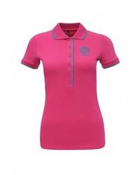 Женская ярко-розовая рубашка поло от Baon