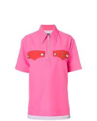 Женская ярко-розовая рубашка поло от Calvin Klein 205W39nyc