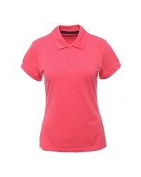 Женская ярко-розовая рубашка поло от Columbia