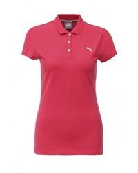 Женская ярко-розовая рубашка поло от Puma