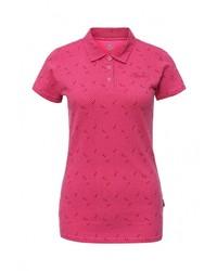 Женская ярко-розовая рубашка поло от Rukka