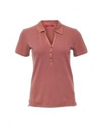 Женская ярко-розовая рубашка поло от s.Oliver