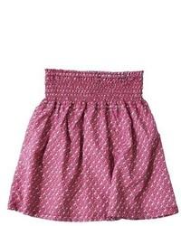 Ярко-розовая юбка