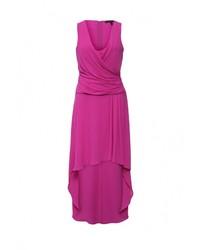 Женское ярко-розовое вечернее платье от BCBGMAXAZRIA