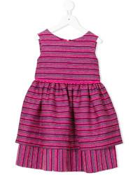 Детское ярко-розовое платье для девочке