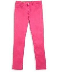 Ярко-розовые леггинсы