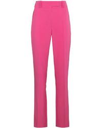Ярко-розовые узкие брюки