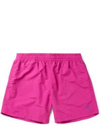 Ярко-розовые шорты для плавания от Polo Ralph Lauren