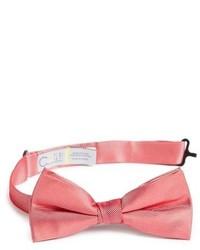 Ярко-розовый галстук-бабочка