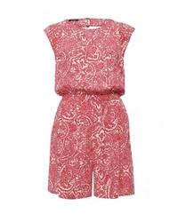 Ярко-розовый комбинезон с шортами от Motivi
