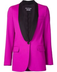 Женский ярко-розовый пиджак