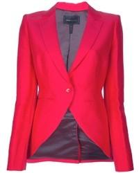 Женский ярко-розовый пиджак от BCBGMAXAZRIA