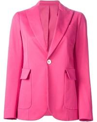 Женский ярко-розовый пиджак от Dsquared2