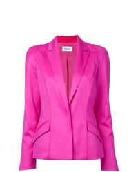 Женский ярко-розовый пиджак от Mugler