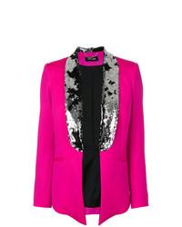 Женский ярко-розовый пиджак от Styland