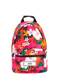 Ярко-розовый рюкзак