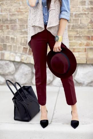 Черные замшевые туфли от Inario