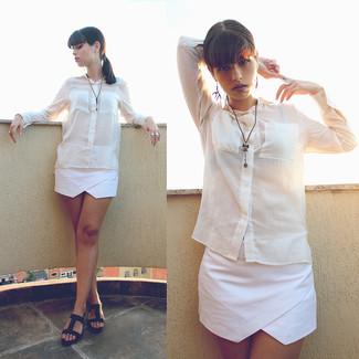 Белые шорты от MinkPink