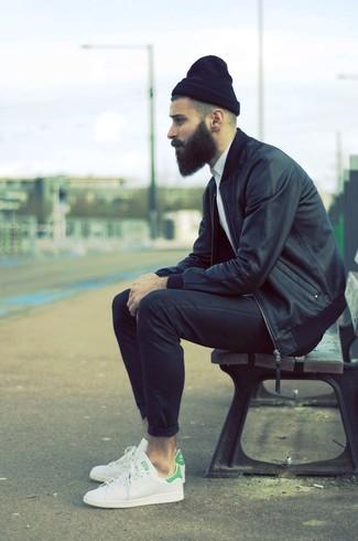 Черные брюки чинос от Medicine