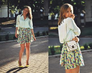 Разноцветные юбки солнце