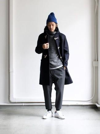 Мужская темно-синяя шапка от Goorin Brothers
