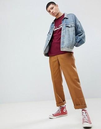 Табачные брюки чинос от Alcott