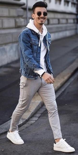 f9d544d1685 С чем носить белый худи мужчине  Модные луки (43 фото)