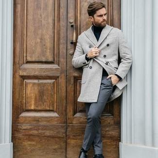 что надеть с серыми брюками мужчине