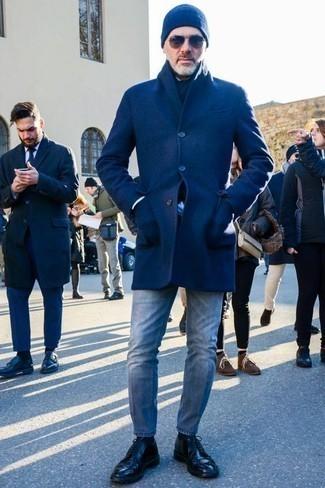 Мужская синяя шапка от Bikkembergs