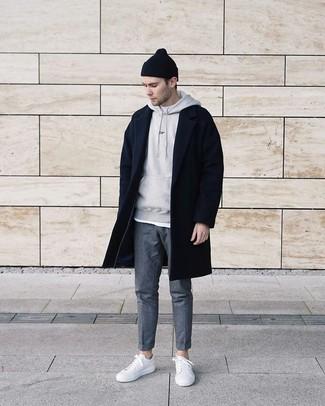 Мужской серый худи от adidas Performance