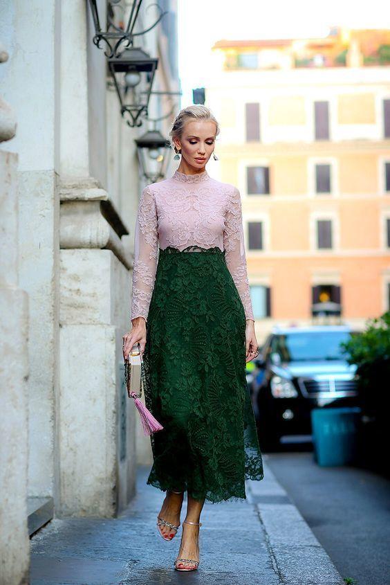 Твое зеленое платье
