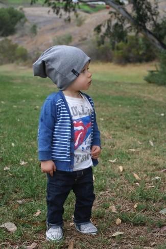 Детский синий кардиган для мальчику от Paul Smith
