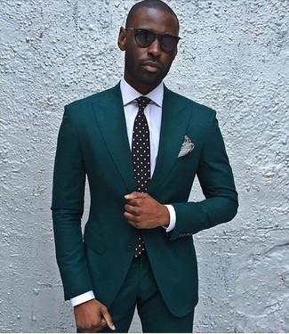 Мужские черные солнцезащитные очки от Reclaimed Vintage