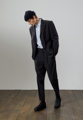 Мужская черная шапка от Nike