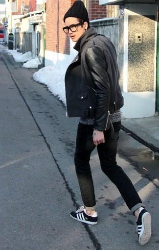 Мужская черная шапка от DC Shoes