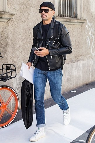 Мужская черная шапка от adidas Performance