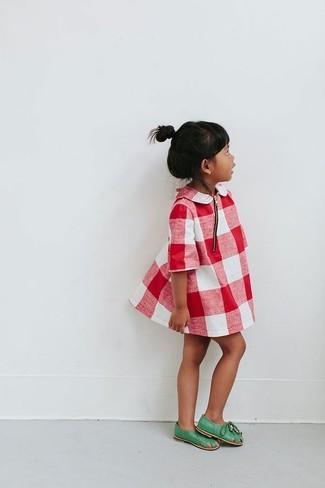 Красное платье: с чем носить и как сочетать девочке: