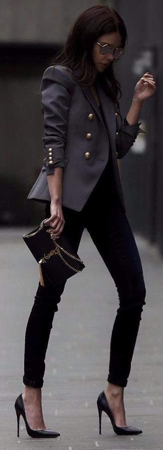 Черные кожаные туфли от Vitacci