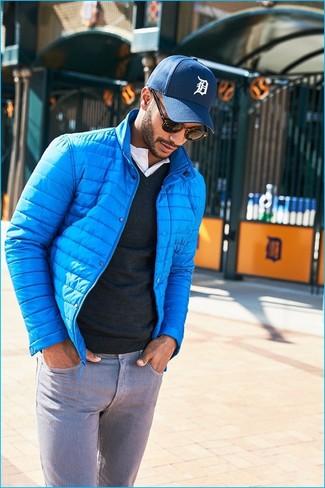 e5f774b0 Мужская бирюзовая куртка-пуховик от Nike, 6 740 руб.   Lamoda   Лукастик